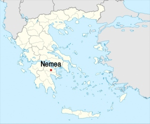 Nemèa is found in the Peloponnese peninsula in southern Greece. Photo Courtesy of Boutari Wines.