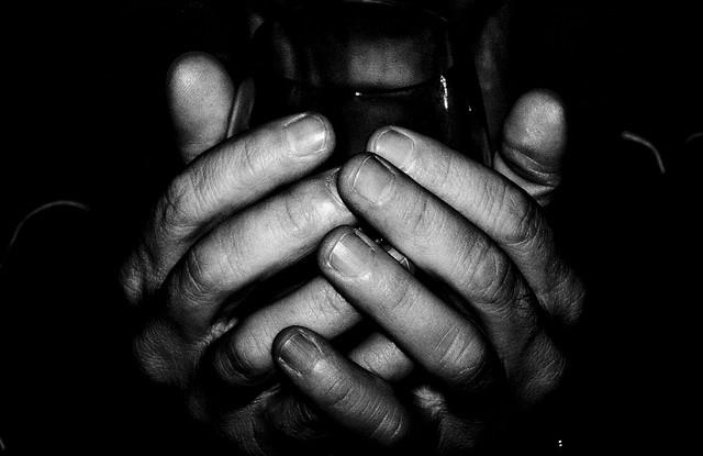 wine hands
