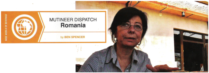 American Wine Writer – Romania